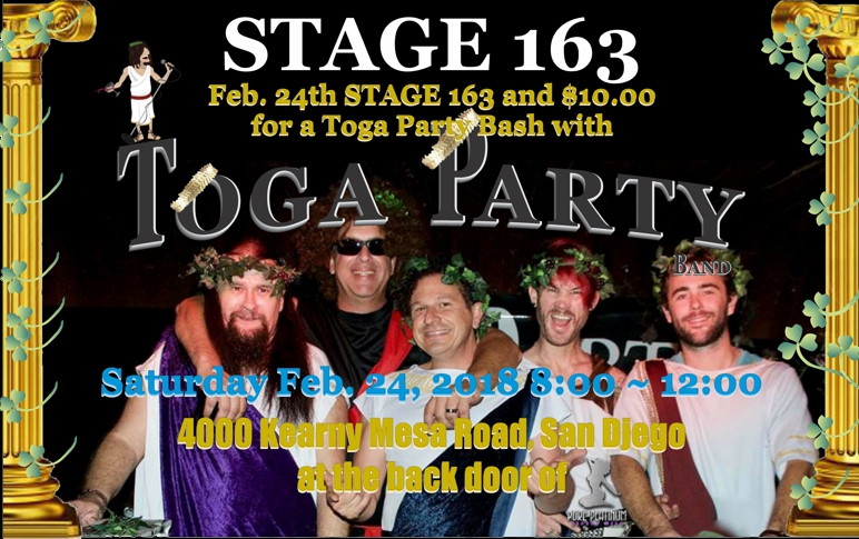 Toga Party 02.24.2018